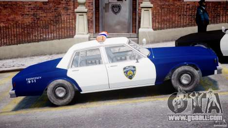Chevrolet Impala Police 1983 for GTA 4 side view