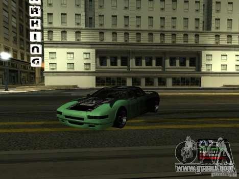 Teal Infernus for GTA San Andreas