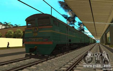 RAILWAY mod II for GTA San Andreas sixth screenshot