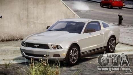 Ford Mustang V6 2010 Premium v1.0 for GTA 4