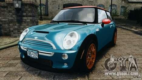 Mini Cooper S v1.3 for GTA 4
