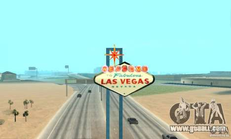 Welcome to Las Vegas for GTA San Andreas forth screenshot