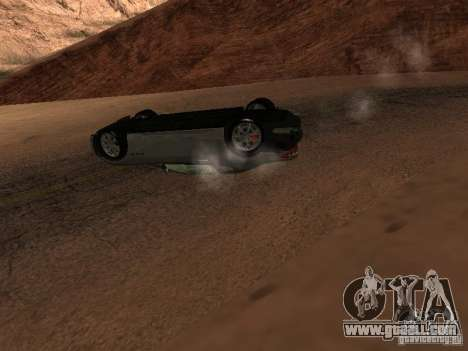 Overturned cars don't burn for GTA San Andreas seventh screenshot