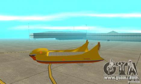 Aerial Platform Air Carrier for GTA San Andreas back left view