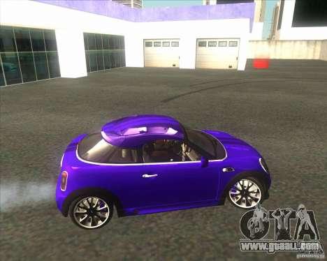 Mini Coupe 2011 Concept for GTA San Andreas