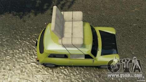 Mini Cooper for GTA 4 right view