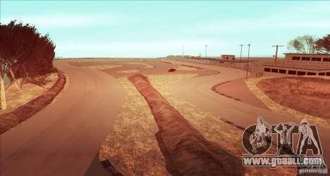 The Ebisu South Circuit for GTA San Andreas forth screenshot
