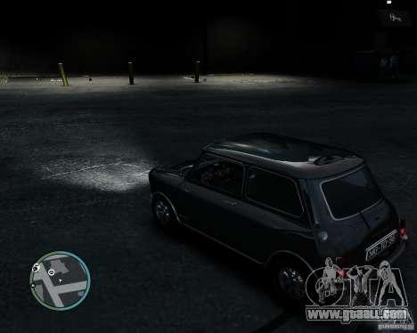 Austin Mini Cooper S for GTA 4 back view