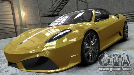 Ferrari Scuderia Spyder 16M for GTA 4