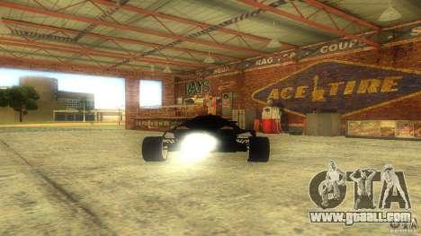 Lamborghini Concept for GTA San Andreas back view