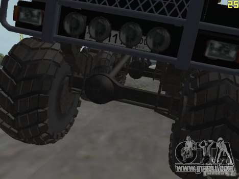 ZIL 497200 for GTA San Andreas back view