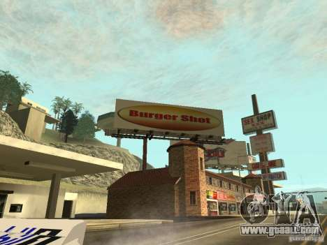 The new advertisement to the mods for GTA San Andreas second screenshot
