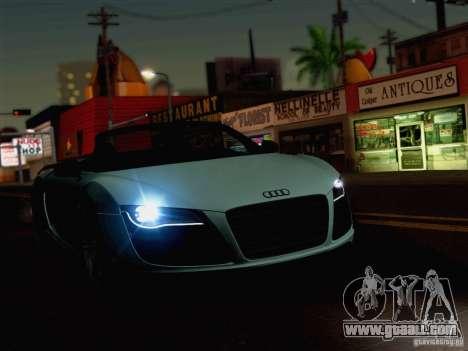 New Car Lights Effect for GTA San Andreas third screenshot