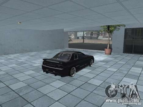 Nissan Skyline R32 Tuned for GTA San Andreas back view