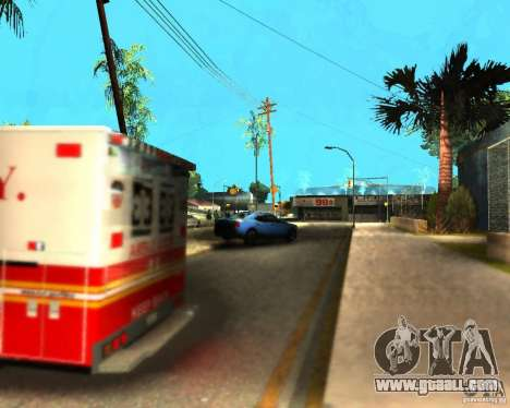 ENB For medium PC for GTA San Andreas sixth screenshot