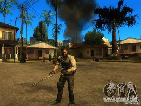 Animation Mod for GTA San Andreas forth screenshot