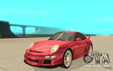 Porsche 911 (997) GT3 v2.0 for GTA San Andreas