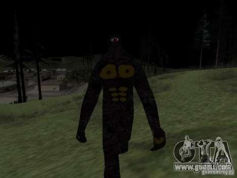 Snow man for GTA San Andreas third screenshot