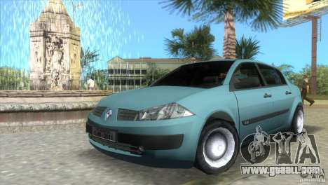 Renault Megane Sedan for GTA Vice City