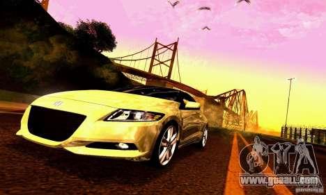 Honda CR-Z 2010 V2.0 for GTA San Andreas engine