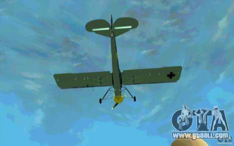 Fiesler Storch for GTA San Andreas inner view