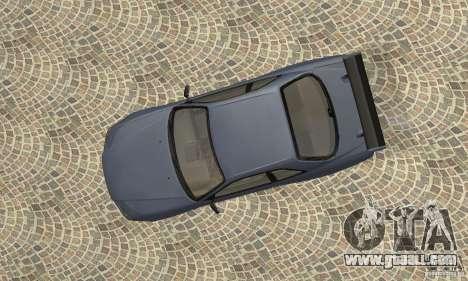 Nissan Skyline R-34 GTR for GTA San Andreas back view