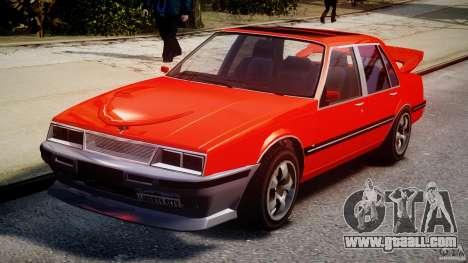 Willard DUB Edition for GTA 4 back view