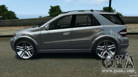 Mercedes-Benz ML63 AMG Brabus for GTA 4 left view