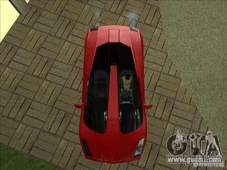 Lamborghini Concept S for GTA San Andreas upper view