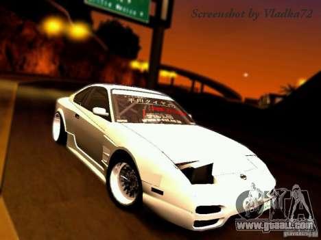 Nissan 150SX Drift for GTA San Andreas
