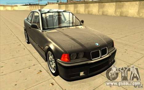 BMW E36 M3 - Stock for GTA San Andreas back view