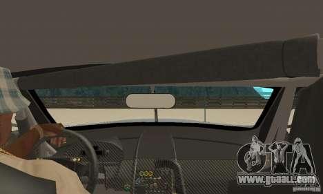 Aston Martin DBR9 (v1.0.0) for GTA San Andreas right view