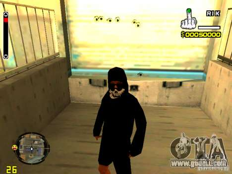 Skin bum v7 for GTA San Andreas forth screenshot