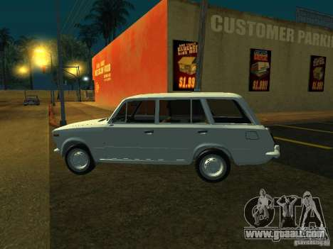 VAZ 2106 Touring for GTA San Andreas back left view