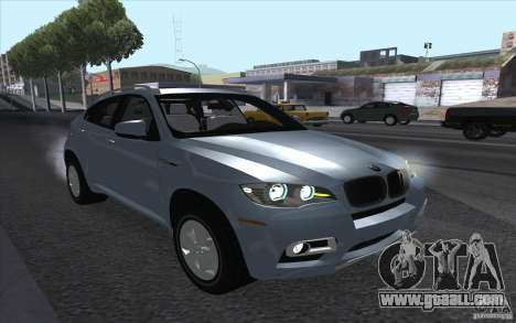 BMW X6M 2013 for GTA San Andreas back left view