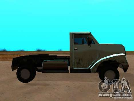 Yankee Truck for GTA San Andreas left view