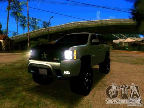 Chevrolet Silverado Final for GTA San Andreas