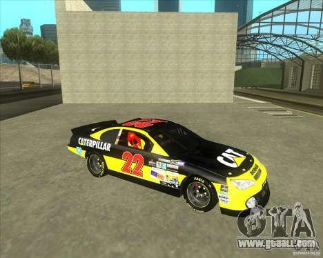 Dodge Nascar Caterpillar for GTA San Andreas left view