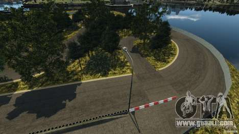 Bihoku Drift Track v1.0 for GTA 4 third screenshot