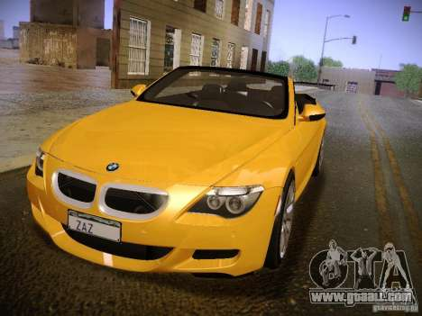 BMW M6 for GTA San Andreas right view