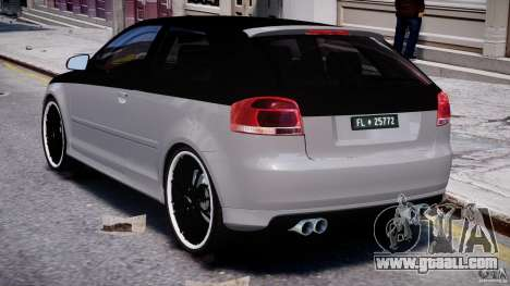 Audi S3 for GTA 4 right view