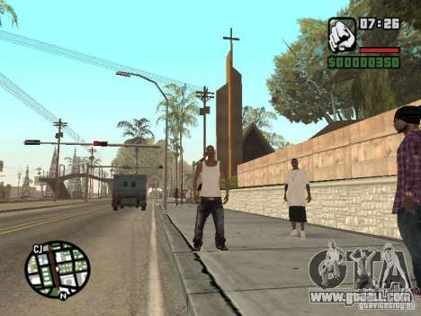 Sleep for GTA San Andreas forth screenshot