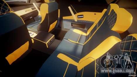 BMW M5 Lumma Tuning [BETA] for GTA 4 inner view