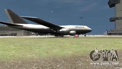 Lufthansa MOD for GTA 4 back left view