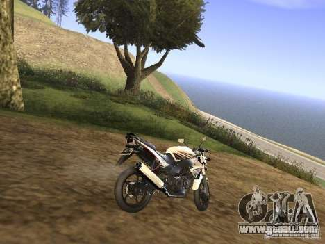 Yamaha V-Ixion for GTA San Andreas back left view