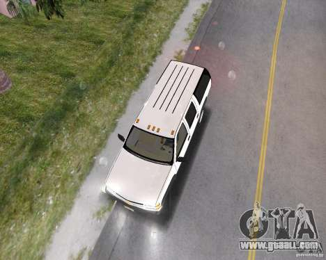 Chevrolet Suburban 1996 for GTA Vice City back left view