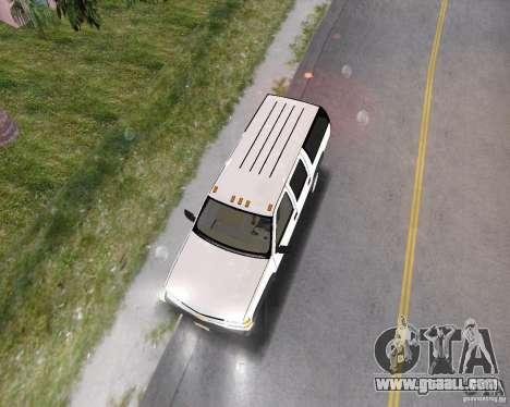 Chevrolet Suburban 1996 for GTA Vice City back left view