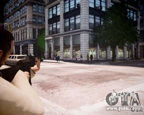 AKM 74 for GTA 4 forth screenshot