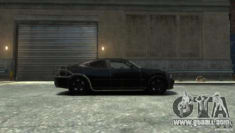 Dodge Charger Fast Five for GTA 4 left view