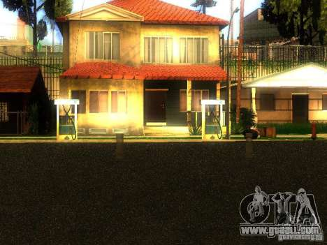 Base of Grove Street for GTA San Andreas second screenshot